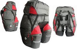 Велорюкзак на багажник Commandor (TM Neve) Bolide 80