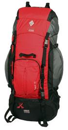 Туристический рюкзак Commandor (TM Neve) Expert 75 красный