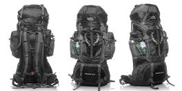 Туристический рюкзак 80+5 литров черный