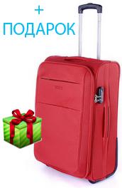 Красный чемодан Puccini Camerino 5702;03