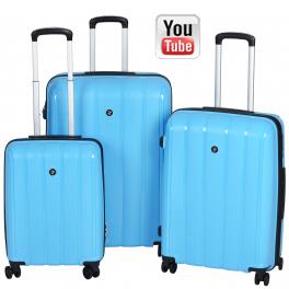 Комплект чемоданов 2E Youngster 2E-SPPY-SET-LB