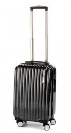 Пластиковый чемодан цвета карбон Sumdex La Finch SWR-723CB