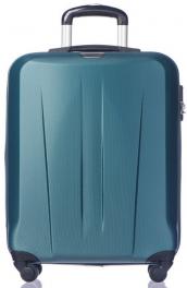 Легкий пластиковый чемодан Puccini Paris 7920;71 изумрудный