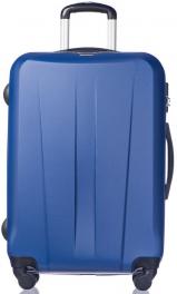 Легкий пластиковый чемодан Puccini Paris 7924;04 светло-синий