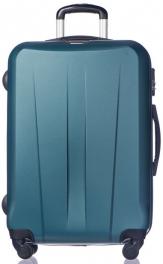 Легкий пластиковый чемодан Puccini Paris 7924;71 изумруд
