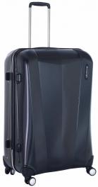 Легкий пластиковый чемодан March Vision 3322;07 черный