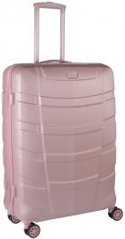 Легкий пластиковый чемодан March Ypsillon 3641;99 розовый