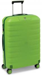 Легкий пластиковый чемодан Roncato BOX 2.0 5541;37 лайм