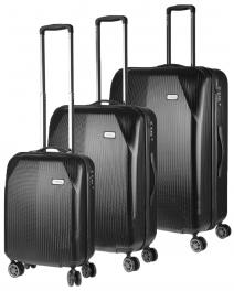 Комплект чемоданов March Jersey Y1045;07 черный