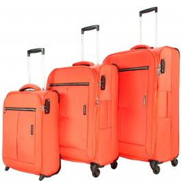 Комплект чемоданов March Quash 2000;10 мандарин