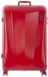 Легкий пластиковый чемодан March Vision 3321;02 красный