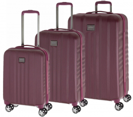 Комплект чемоданов March Fly Y1104;22 бургунди