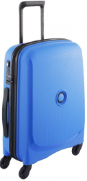 Голубой чемодан Delsey Belmont 3840803;22