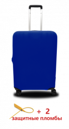 Чехол для чемодана Coverbag из дайвинга L электро