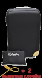 Чехол для чемодана Coverbag из неопрена M черный