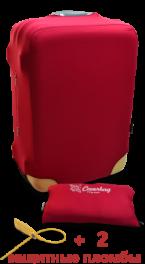 Чехол для чемодана Coverbag из неопрена L красный