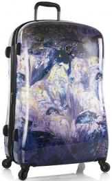 Легкий чемодан Heys Purple Amethyst (L) 924328 Stone Print