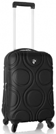 Легкий пластиковый чемодан Heys EcoOrbis (S) Black 924294