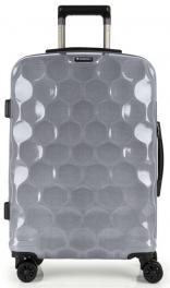 Легкий чемодан из поликарбоната Gabol Air (M) Silver 925549