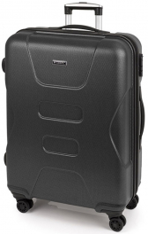 Легкий пластиковый чемодан Gabol Custom (L) Grey 926202