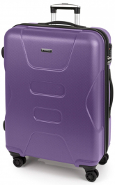 Легкий пластиковый чемодан Gabol Custom (L) Purple 926206