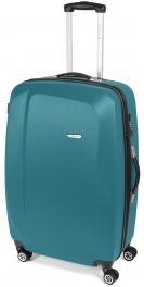 Легкий пластиковый чемодан Gabol Line (L) Turquoise 925564