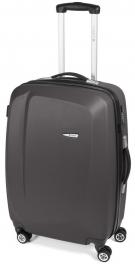 Легкий пластиковый чемодан Gabol Line (M) Grey 924672