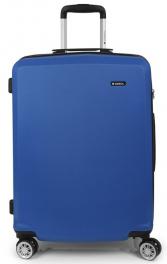Легкий пластиковый чемодан Gabol Mondrian (M) Blue 925834