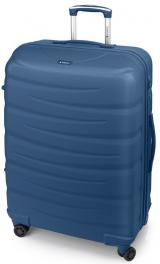 Легкий пластиковый чемодан Gabol Trail (L) Blue 924934