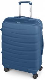 Легкий пластиковый чемодан Gabol Trail (M) Blue 924933