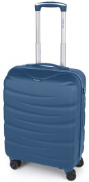 Легкий пластиковый чемодан Gabol Trail (S) Blue 924932