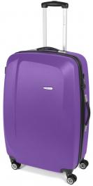 Легкий пластиковый чемодан Gabol Line (L) Mauve 924685