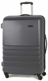 Пластиковый чемодан Rock Byron (L) Charcoal 925059