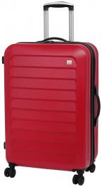 Пластиковый чемодан Members Chevron 924156