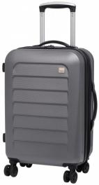 Пластиковый чемодан Members Chevron 924151