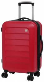 Пластиковый чемодан Members Chevron 924155