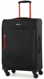 Легкий чемодан Members Hi-Lite (M) Black 922607