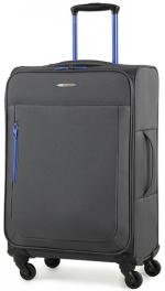 Легкий чемодан Members Hi-Lite (M) Grey 922632