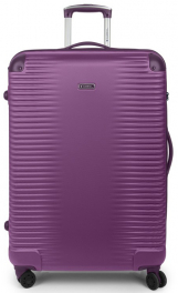 Легкий пластиковый чемодан Gabol Balance (L) Plum 925544