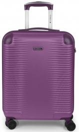 Легкий пластиковый чемодан Gabol Balance (S) Plum 924588