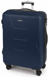 Легкий пластиковый чемодан Gabol Custom (L) Blue 925827