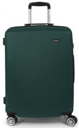 Легкий пластиковый чемодан Gabol Mondrian (M) Green 926595