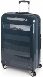 Пластиковый чемодан Gabol Slat (L) Blue 924896
