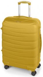Легкий пластиковый чемодан Gabol Trail (M) Mustard 926569