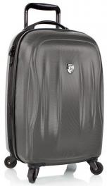 Легкий чемодан из поликарбоната Heys SuperLite (S) Pewter 925190