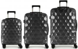Комплект чемоданов из поликарбоната Gabol Air (L,M,S) Black