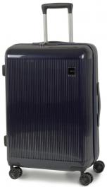 Пластиковый чемодан Rock Windsor (M) Navy 926443