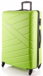 Легкий пластиковый чемодан Travelite Bliss TL074849-83