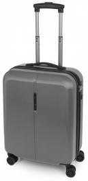 Легкий пластиковый чемодан Gabol Paradise (S) Grey 925781