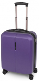Легкий пластиковый чемодан Gabol Paradise (S) Purple 925785